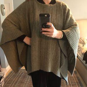 🎉Host Pick 🎉 Ralph Lauren Blanket Shawl Sweater